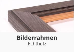 Echtholz Bilderrahmen